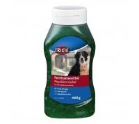 Зелен гел против котки и кучета - не е отрова.