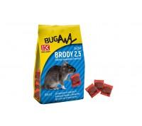 Броди 2.5 е отровна примамка - паста срещу домашни мишки и плъхове