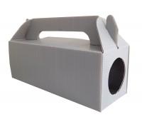 Сгъваема дератизационна кутия за вътрешна дератизация срещу гризачи.